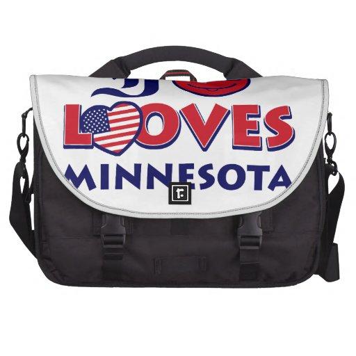 Minnesota design laptop commuter bag