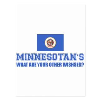 Minnesota desin postcard