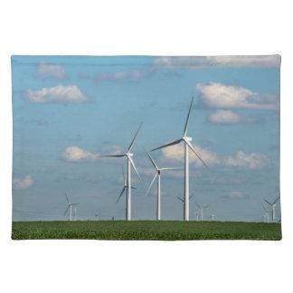 Minnesota, Dexter, Grand Meadow Wind Farm 2 Cloth Placemat