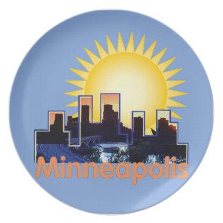 Minnesota Dinner Plate