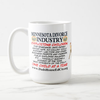 Minnesota Divorce Industry. Coffee Mugs