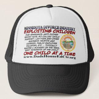Minnesota Divorce Industry.. Trucker Hat