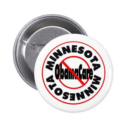 ¡Minnesota el venir anti de ObamaCare - de noviemb Pin