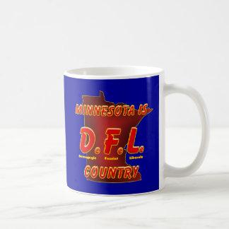 Minnesota es D.F.L. Country Taza