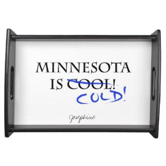Minnesota es fresco bandejas