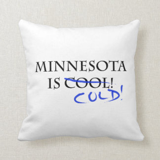 Minnesota es fresco cojín