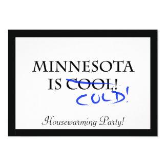 """Minnesota es fresco invitación 5"""" x 7"""""""