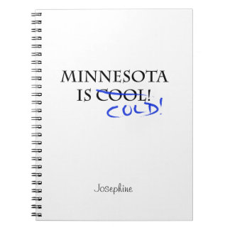 Minnesota es fresco note book
