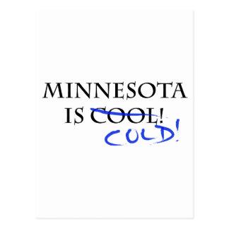 ¡Minnesota es fresco - y frío! Tarjetas Postales
