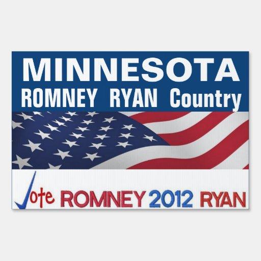 MINNESOTA es muestra del país de Romney Ryan Señales