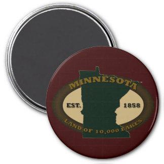 Minnesota Est. 1858 Magnet
