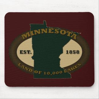 Minnesota Est. 1858 Tapetes De Ratones