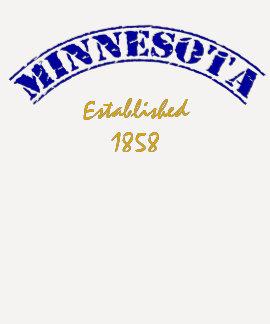 Minnesota Established Tee Shirts