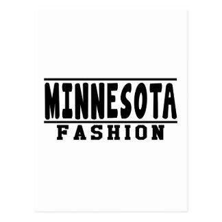 Minnesota Fashion Designs Postcard