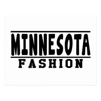 Minnesota Fashion Designs Post Card