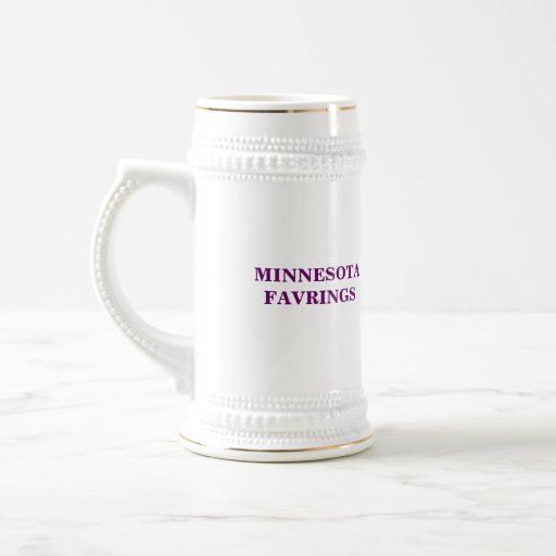 Minnesota Favrings Jarra De Cerveza