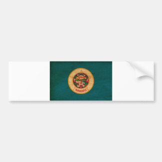 Minnesota Flag Bumper Sticker