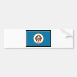 Minnesota Flag Bumper Stickers
