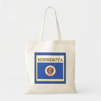 Minnesota Flag Design Budget Tote Bag