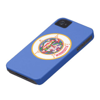 Minnesota Flag iPhone 4 Case-Mate Case