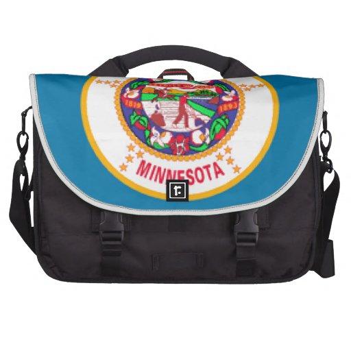 Minnesota Flag Laptop Bag