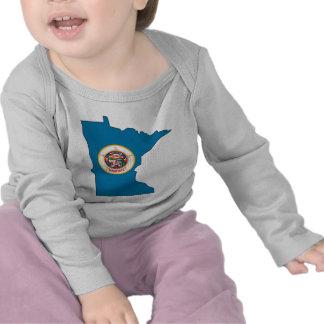 Minnesota Flag Map Tees