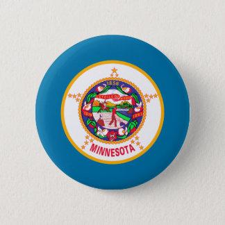 Minnesota Flag Pinback Button