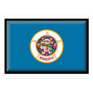 Minnesota Flag Post Cards