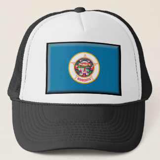 Minnesota Flag Trucker Hat