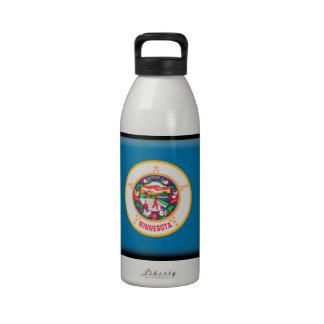 Minnesota Flag Reusable Water Bottles