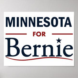 Minnesota for Bernie Poster