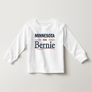 Minnesota for Bernie Toddler T-shirt