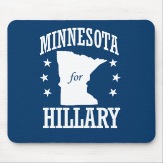 MINNESOTA FOR HILLARY MOUSE PAD