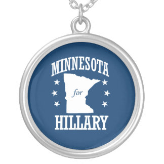 MINNESOTA FOR HILLARY PERSONALIZED NECKLACE