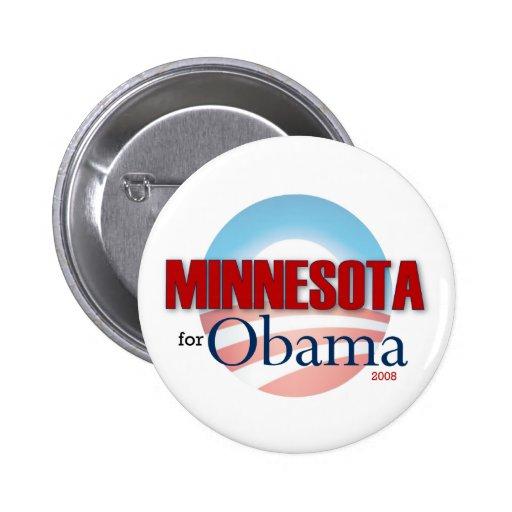 MINNESOTA for Obama Pin