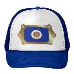 Minnesota framed Flag Hat