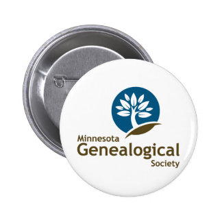 Minnesota Genealogical Society 2 Inch Round Button