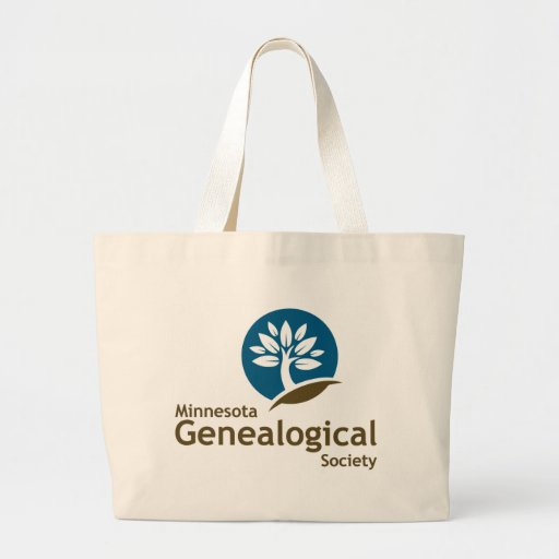 Minnesota Genealogical Society Jumbo Tote Bag