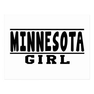 Minnesota girl designs post card