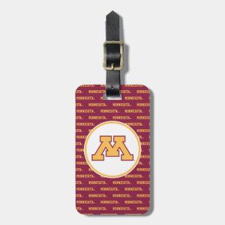 Minnesota Gold M Bag Tag