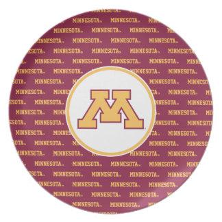 Minnesota Gold M Dinner Plate