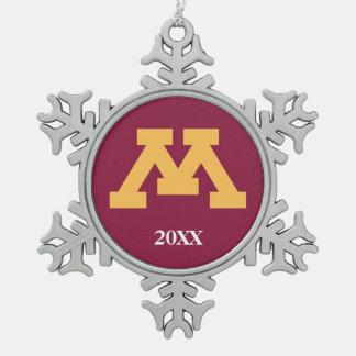 Minnesota Gold M Ornament