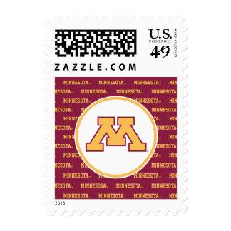 Minnesota Gold M Stamps