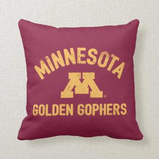 Minnesota | Golden Gophers 3 Throw Pillow
