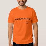 Minnesota golpea 1976-1981 con el pie camisas