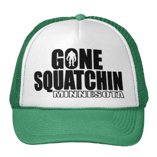 MINNESOTA Gone Squatchin - Original Bobo Trucker Hat