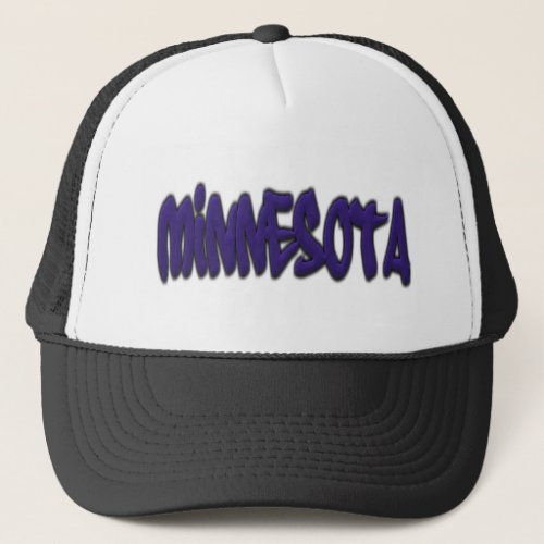 Minnesota Graffiti Trucker Hat