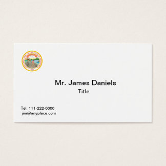 Minnesota Great Seal Business Card