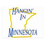 Minnesota - Hangin Postal