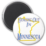 Minnesota - Hanging Out Magnets